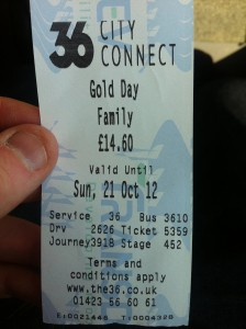Family Gold Ticket